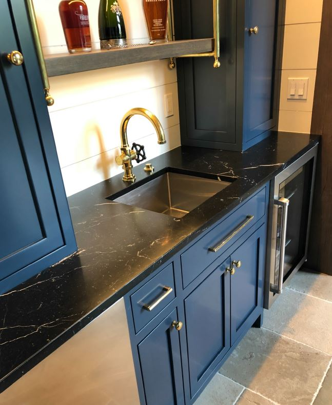 Negro Marquina Marble in Defiance, MO-3